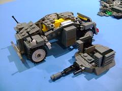 Custom WW2 Lego  Armor car SdKfz 222 WIP (TekBrick) Tags: custom ww2 lego car armor sdkfz 222 moc german wip