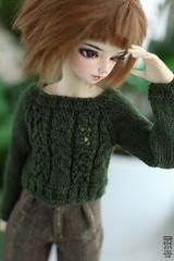 Knits for Minifee (Nymphodisiac) Tags: minifee bjd knitting doll knits