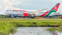 5Y-KZD (Melanie.Whiteside_TheAvgeek) Tags: aviation avgeek aeroplane plane airport boeing amsterdam schiphol eham ams kenya airways b787 b788 dreamliner