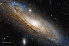 M31 Andromeda Galaxy -- Sur un ciel d'Aubrac (philomathe) Tags: m32 galaxy eq6 astrophotography andromeda m31 canon canon6d neq6 6d andromedagalaxy astronomy quattro pixinsight skywatcher m110 aubrac