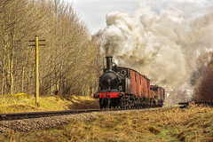 KWVR 2018_03_11_069 (Phil_the_photter) Tags: steam steamengine steamloco steamrailway steamgala kwvr keighley 70013 olivercromwell black5 blackfive 44871 oakworth coaltank 1054 7f 53808 oxenhope