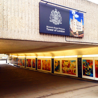 Modern Art Exhibit by Stephen B. Whatley Leads Public to Tower of London.