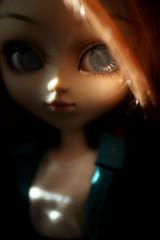 Léandre (Blublue) Tags: blublue pullip doll poupée groove jun planning princess queen rosalind blind aveugle blue bleu red hair head rousse roux coat white blanc