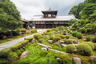 Tōfuku-ji temple and garden.. Kyoto
