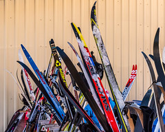 "2018-03-03 62/365 Cross-country skis (Rick McCutcheon) Tags: ""nikond750"" ""tamron2470g2"" 365the2018edition 3652018 day62365 03mar18"
