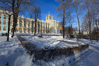 Catherine Palace. Church of Resurrection.