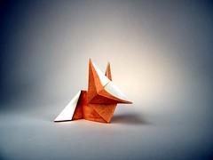 Fox Cub - Paul Jackson (Rui.Roda) Tags: origami papiroflexia papierfalten raposa zorro renard fox cub paul jackson