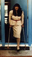 jmari8 (jackcast2015) Tags: handicapped disabledwoman crippledwoman crutches amputee hdamputee hipdisarticulation