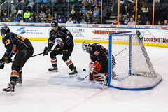 "Kansas City Mavericks vs. Ft. Wayne Komets, March 2, 2018, Silverstein Eye Centers Arena, Independence, Missouri.  Photo: © John Howe / Howe Creative Photography, all rights reserved 2018 • <a style=""font-size:0.8em;"" href=""http://www.flickr.com/photos/134016632@N02/40598288802/"" target=""_blank"">View on Flickr</a>"