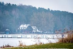 Dechsendorfer Weiher - Forsthaus (Peter Goll thx for +11.000.000 views) Tags: 2018 dechsendorf natur winter erlangen germany weiher see pond lake eisfläche ice eis schnee snow forsthaus giesberg