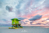 Green at Sunrise (Wits End Photography) Tags: daybreak firstlight daylight sunup ocean sunrise cloudy morn dawn morning sky am miami light early clouds