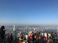The Peak at Hongkong (umkev) Tags: hongkong thepeak panoramicviewofhongkong