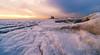 Low on ice (reinaroundtheglobe) Tags: marken markermeer hetpaardvanmarken nederland holland thenetherlands winter snow ice artic lowangleview lighthouse morning nopeople sunrise