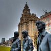 Leaving Liverpool (richardsos@yahoo.com) Tags: hdr beatles liverpool mersey merseyside england uk liver bird building oier head canon architecture statue