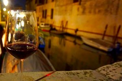 Venezia.  #wine #redwine #boat #life #love #freedom #cheers #dayoff #amazing #bridge #nature #artistic #photo #glass #relax #night #light #tbt #gourgeous #vsco #vscocam (menegottogiulia) Tags: boat wine bridge night redwine tbt cheers photo life light relax freedom love amazing nature dayoff vscocam artistic vsco glass gourgeous