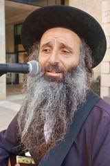 Musician, Mamilla, Jerusalem