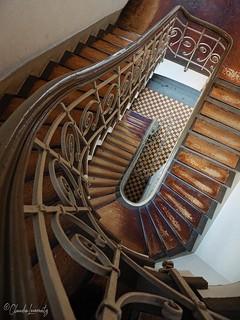 Berlin - Treppe in der Charité