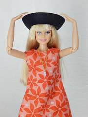 """""""Bright"""" - the Violett Garden collection (Levitation_inc.) Tags: fashion doll dolls ooak handmade dress outfit levitation levitationfashion royalty nuface nu face poppy parker fr2 made move barbie bright mod colorful colors millie"""