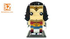 Wonder Woman - 41599 - LEGO BrickHeadz  - LEGO Speed Build (BuildZillion.com) Tags: galgadot wonderwoman lego legos legobuilds legofan legobuild legobrickheadz brickheadz legospeedbuild speedbuild timelapse stopmotion