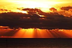 Los rayos del sol (Antonio Chacon) Tags: andalucia amanecer costadelsol cielo españa spain marbella málaga mar mediterráneo sunrise