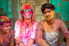 Holi Celebration at Mandawa, Rajasthan, India (CamelKW) Tags: 2018 india rajasthan holi celebration mandawa