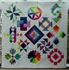 Das ist mein 6Köpfe-12Blöcke Quilt (wegequilts) Tags: patchwork quilten quilting 6köpfe12blöcke