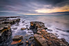 Kimmeridge Bay (tonywoodphotography.com) Tags: kimmeridge bay sunrise sunset long exposure clouds lee filters landscape seascape sea seaside dorset sony a7rii carl zeiss batis beach shore jurrasic uk waves outdoors