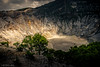 Morning light on the Tangkuban Perahu Crater (soundmoods) Tags: vulcano crater indonesia java sun morning stone rock lava