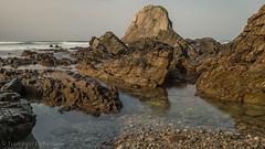 Playa de Vallina Valdredo 3.)-2265 (dironzafrancesco) Tags: tamron felsen slta99v sony palayas natur reise ndfilter tamronsp2470mmf28diusd playadevallinavaldredo haida principadodeasturias spanien es