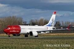 B737 MAX8 EI-FYD NORWEGIAN (shanairpic) Tags: jetairliner b737 boeing737 shannon irish norwegian eifyd