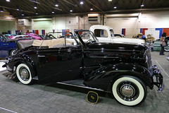 1937 Chevrolet (bballchico) Tags: 1937 chevrolet convertible carshow gnrs2018