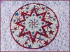 820_Patriotic Stars on Wood Table Topper Red (QuiltinWaYnE) Tags: quilted handmade kitchentabledecor diningtabledecor coffeetabledecor tablemat tabletopper tabledecor quiltedtabletopper quiltsy etsyseller etsyquilter etsy etsyshop etsyhandmade qqqetsy quiltedtabledecor tablelinen handmadequilt tablequilt