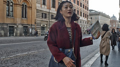 I don't know which way to go either!! (Baz 120) Tags: candid candidstreet candidportrait city candidface candidphotography contrast colour street streetphoto streetphotography streetcandid streetportrait sony a7 fullframe rome roma romepeople romestreets europe women urban life primelens portrait people pentax20mm28 italy italia grittystreetphotography faces decisivemoment strangers