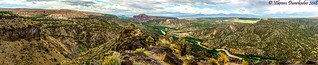 Panoramic View from White Rock Overlook, White Rock, New Mexico