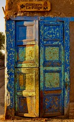 Puerta de San Pedro de Atacama (pablowjaramillor) Tags: puerta door sunset atardecer san pedro de atacama colores gustavo le paige sanpedrodeatacama