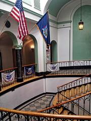 Harrietstown Town Hall- Saranac Lake NY (2) (kevystew) Tags: newyork franklincounty saranaclake harrietstown townhall