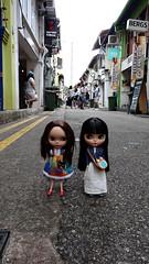 Haji Lane Singapore (Fables I/VI) Tags: haji lane blythe doll papparazzi singapore custom rosy red loisyyy