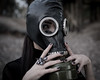 (https://www.facebook.com/pages/Vrad-Photography/79) Tags: apocalyptic apocalypse gasmask woman