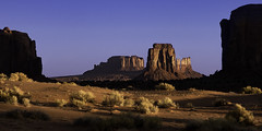 02469376273-97-Early Morningin Monunment Valley-1 (Jim There's things half in shadow and in light) Tags: arazona canon5dmarkiv monumentvalley navajo utah earth landscape morning sky statepark landsape sigma24105mmf4dg desert southwest america