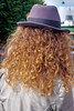 Just Because My Hair Is Curly. (James- Burke) Tags: girl hats street copenhagen denmark streetphotography curlyhair trilby candid backviews hair