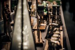 Reindeer (Melissa Maples) Tags: münchen munich deutschland germany europe nikon d3300 ニコン 尼康 nikkor afs 50mm f18g 50mmf18g winter marienplatz night christmasmarket holidays christmas christkindlmarkt market weihnachtsmarkt bokeh gold decorations brass