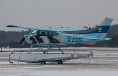 EGLK - Cessna 182 Skylane - G-ESSL (lynothehammer1978) Tags: eglk blackbushe blackbusheairport gessl cessna182skylane