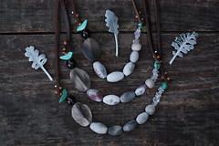 IMG_1429_1 (Anastàssia) Tags: smokefired ceramicjewelry gray grey jewelrydesign shadesofgray tribal earthy shaman ceramics necklace handmade imadeit fetama hechoamano