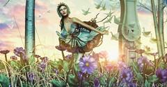 New Post: ∞Forever Twenty One∞ LOTD 527 To Dream... (Forever Twenty One Owner) Tags: catwa maitreya runaway shinyshabby moonamore thearcade magic fashion photography secondlife
