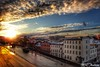 180221-75 Fin de journée sur la basse-ville (clamato39) Tags: ciel sky clouds nuages sunset sun soleil coucherdesoleil villedequébec quebeccity provincedequébec québec canada urban urbain