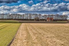 Solitude (++sepp++) Tags: graben bayern deutschland de landschaft landscape bavaria germany sonnig sunny house haus bäume trees feld field