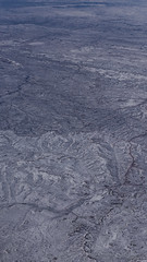 Snowy Landscape (Lee Rosenbaum) Tags: aerialphotography landscape windowseat airplane snow custer washington unitedstates us