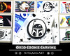 Oreo Cookie Carving - Boba Fett (Kitslams Art) Tags: oreocookiecarving oreocookiesculpture oreoart oreocookieart oreodrawing cookieart cookie starwarsart cookiecollection candyart candydrawing foodart fooddrawing funart creativeart artforkids kitslamsart kitslam youtubeart speedart