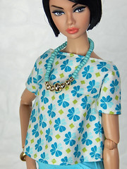 """""""Bright"""" - the Violett Garden collection (Levitation_inc.) Tags: fashion doll dolls ooak handmade dress outfit levitation levitationfashion royalty nuface nu face poppy parker fr2 made move barbie bright mod colorful colors girl from integrity"""
