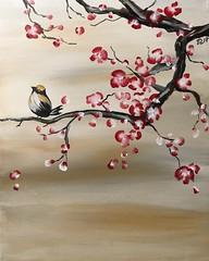 Acrylique_17-51 (TitopPelaw) Tags: japon cerisier acrylique